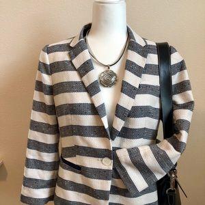 The Limited Striped Blazer